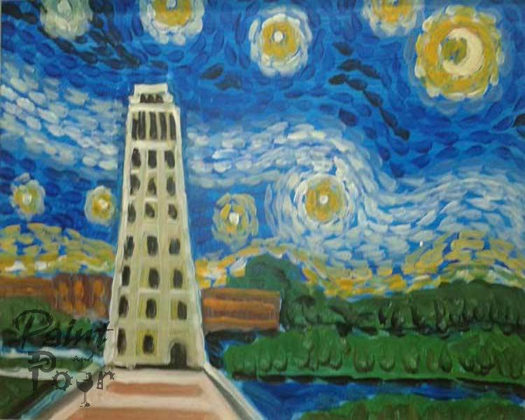 Starry Night on the Belltower (3 hr)