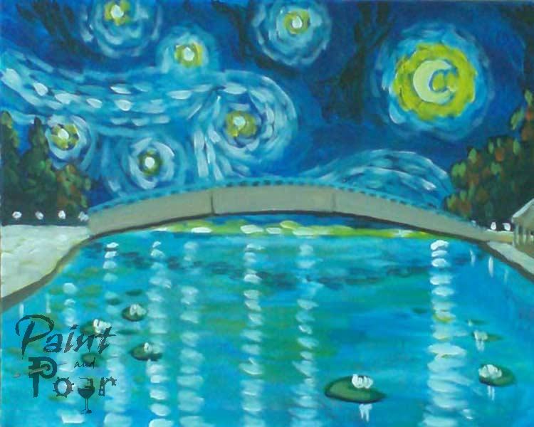 Starry Night on Mill Pond (3hr)