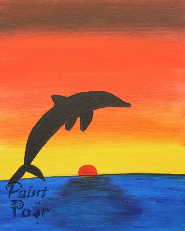 Kids - Dolphin Sunset