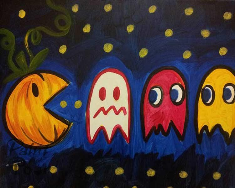 Kids - Pumpkin Pac Man