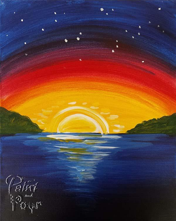 Kids - Rainbow Sunset