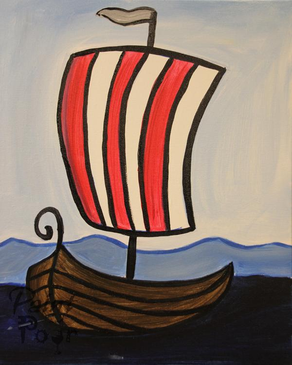 Kids - Viking Ship