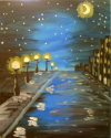 Moonlit Street - Sep 26th 6-8 PM