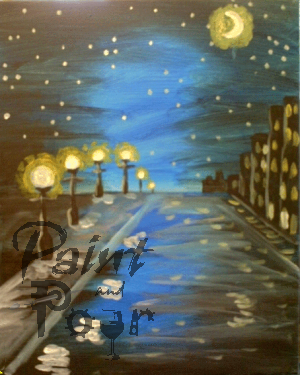 Moonlit Streets