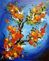 Art Show at Botsford Commons Paint & Pour - Spring Blaze - Mar 24th 12-2 PM