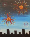 Girls Scout Troop 76464 Painting Badge - Fireworks - Apr 28th 2-4 PM