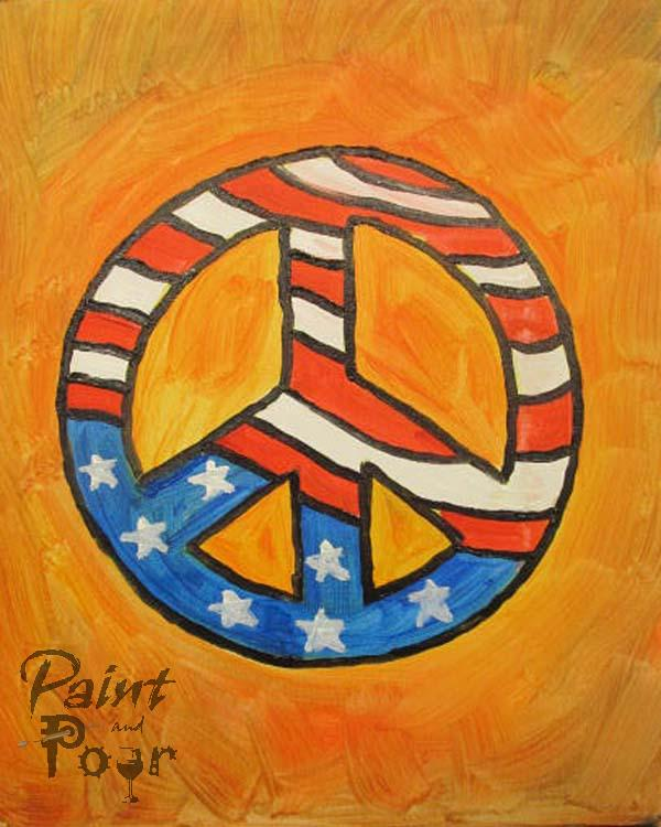 Red, White and Peace